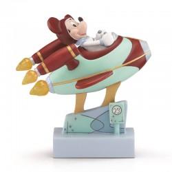 Mickey dans son vaisseau -...