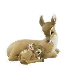 Bambi avec sa maman