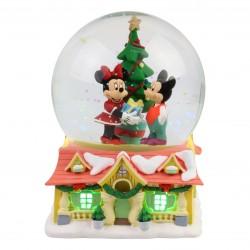 Snowglobe Mickey et Minnie