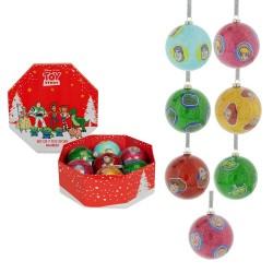 Set de 7 Boules Toy Story