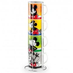Set de 4 mugs Mickey Mouse