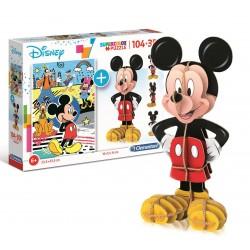 Puzzle enfant + 3D - Mickey...
