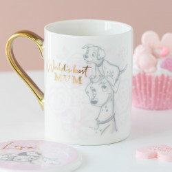 Mug pastel Les 101 dalmatiens