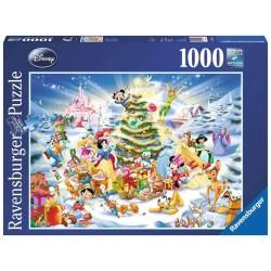"""Puzzle """"Le noël de Disney""""..."""