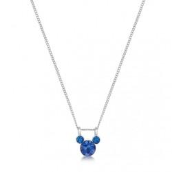 Collier Mickey bleu en...