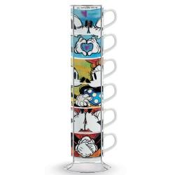 Set de 6 tasses espresso +...