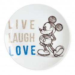 Assiette Mickey Laugh Love...