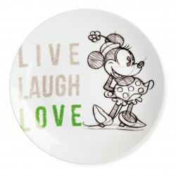 Assiette Minnie Laugh Love...